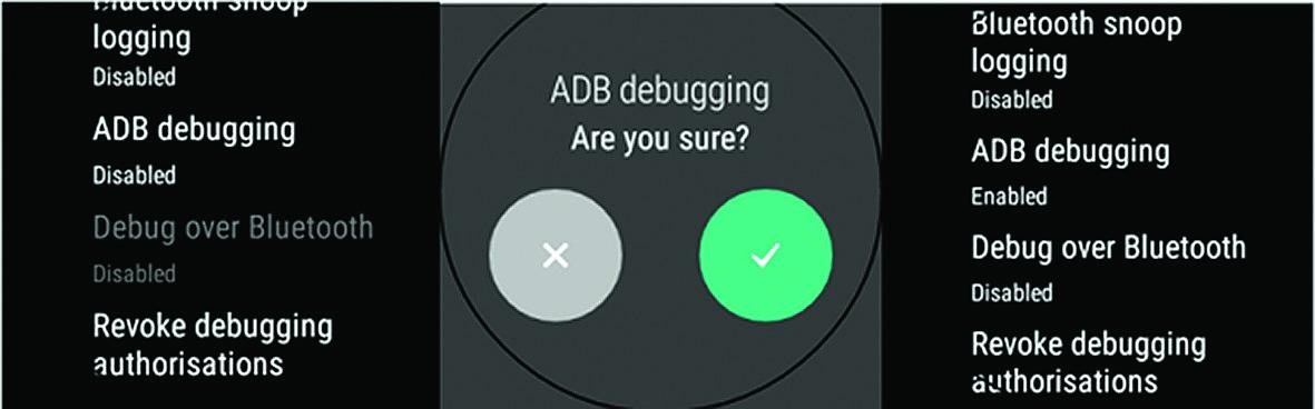 Guía para Depuración con Android Wear   SG Buzz