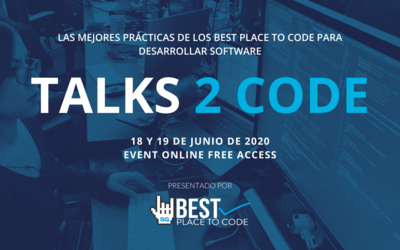 Talks 2 Code, presentado por Best Place 2 Code