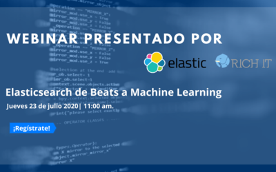 Webinar: Elasticsearch de Beats a Machine Learning