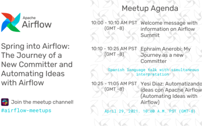 Airflow April Virtual Meetup - En español